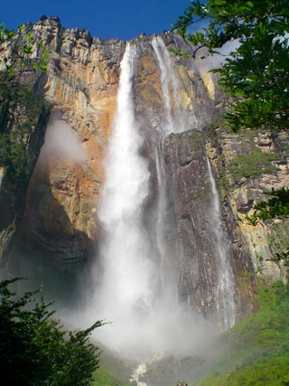 Angel Fall in Canaima - Venezuela | ***PHOTO BY ANTONIO HITCHER*** (all rights reserved)