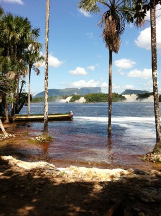 Canaima Lagoon at Canaima National Park - Venezuela