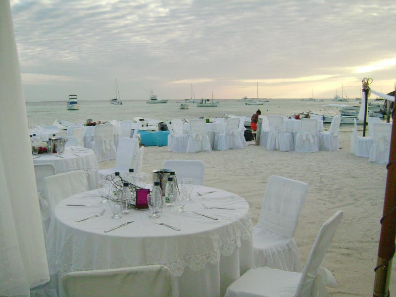 A wedding in Los Roques